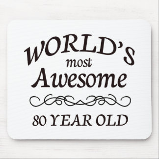World's Most Awesome 80 Year Old Mouse Pad