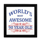 World's Most Awesome 90 Year Old Gift Box