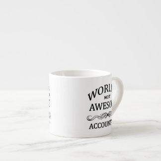 World's Most Awesome Accountant Espresso Mug