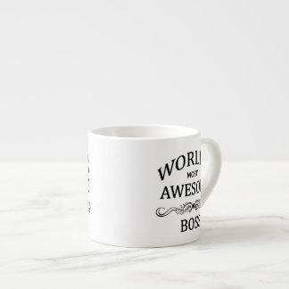 World's Most Awesome Boss Espresso Mug
