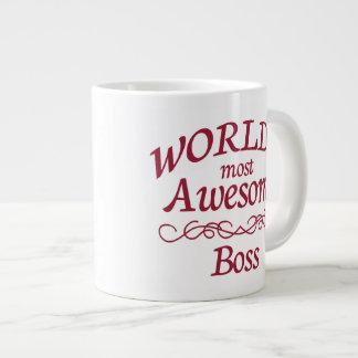 World's Most Awesome Boss Jumbo Mug