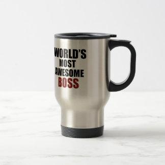 World's most awesome Boss Travel Mug