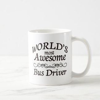 World's Most Awesome Bus Driver Coffee Mug
