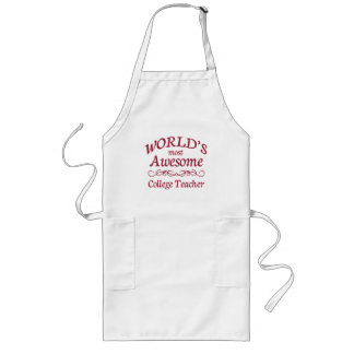 World's Most Awesome College Teacher Apron