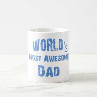 World's Most Awesome Dad Mug