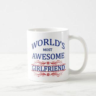 World's Most Awesome Girlfriend Coffee Mug