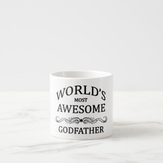 World's Most Awesome Godfather Espresso Cup
