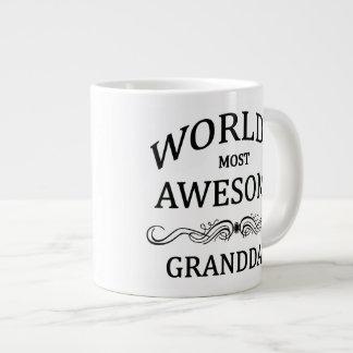 World's Most Awesome Granddad Giant Coffee Mug