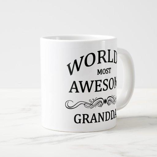 World's Most Awesome Granddad Extra Large Mug