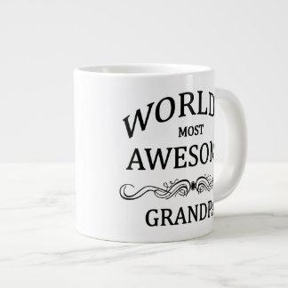 World's Most Awesome Grandpa Jumbo Mug