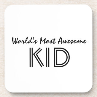 World's Most Awesome KID Coaster