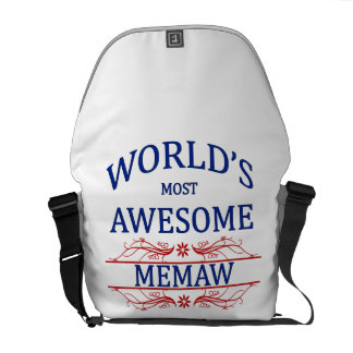World's Most Awesome Memaw Commuter Bag