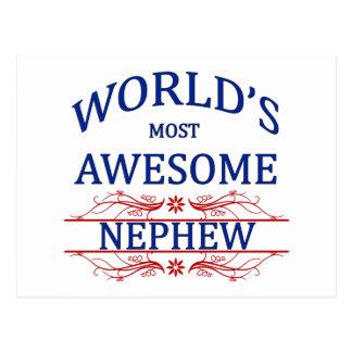 World's Most Awesome Nephew Postcard