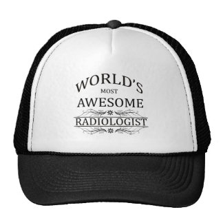 World's Most Awesome Radiologist Cap