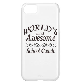 World's Most Awesome School Coach iPhone 5C Case