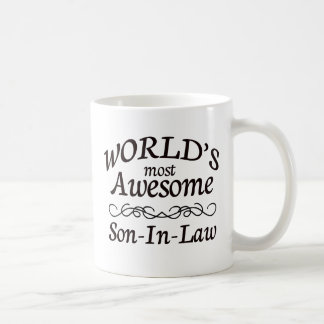 World's Most Awesome Son-In-Law Coffee Mug