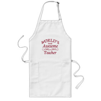 World's Most Awesome Teacher Apron
