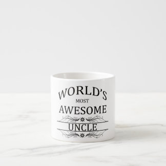 World's Most Awesome Uncle Espresso Cup