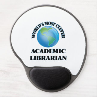 World's Most Clever Academic Librarian Gel Mousepad