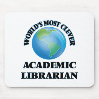 World's Most Clever Academic Librarian Mousepads