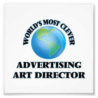 World's Most Clever Advertising Art Director Photo
