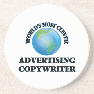 World's Most Clever Advertising Copywriter Coaster