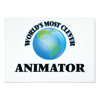 World's Most Clever Animator Card