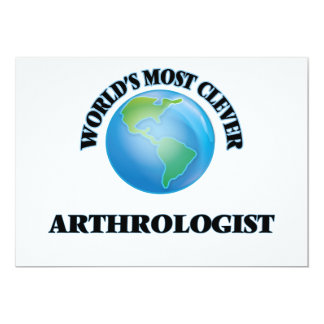 World's Most Clever Arthrologist Card