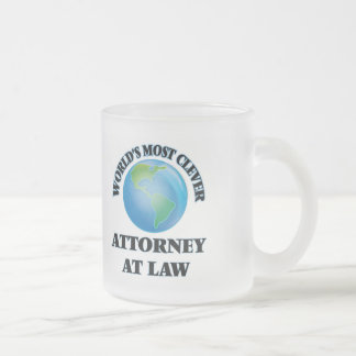 World's Most Clever Attorney At Law Mug