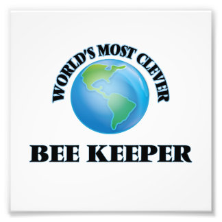 World's Most Clever Bee Keeper Art Photo
