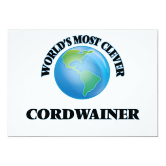World's Most Clever Cordwainer Card