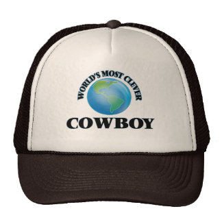 World's Most Clever Cowboy Trucker Hat
