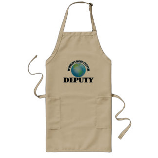 World's Most Clever Deputy Apron