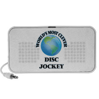 World's Most Clever Disc Jockey Travel Speakers