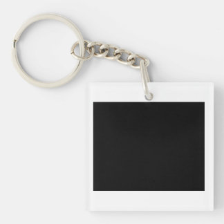 World's Most Clever Ergonomist Single-Sided Square Acrylic Keychain