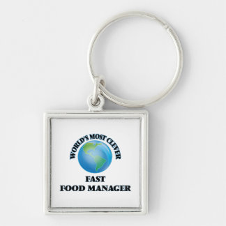 World's Most Clever Fast Food Manager Keychains
