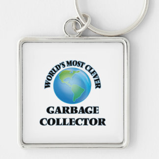 World's Most Clever Garbage Collector Key Chains