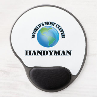 World's Most Clever Handyman Gel Mousepads