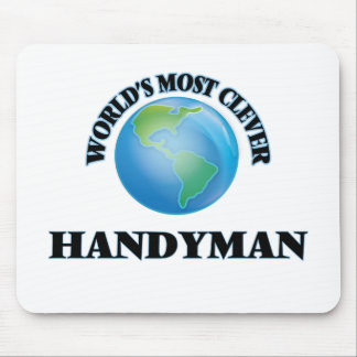 World's Most Clever Handyman Mousepads