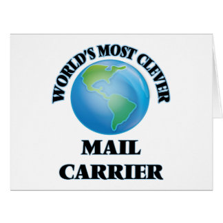 World's Most Clever Mail Carrier Greeting Card
