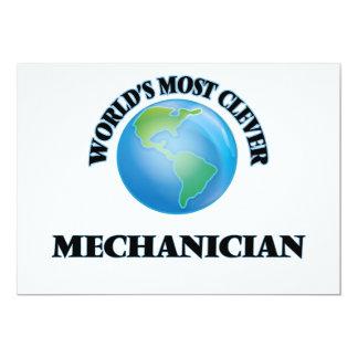 World's Most Clever Mechanician Card