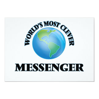 World's Most Clever Messenger Cards