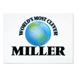 World's Most Clever Miller Cards