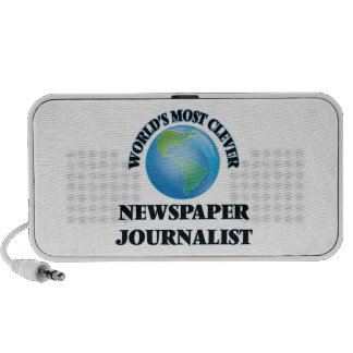 World's Most Clever Newspaper Journalist Laptop Speakers