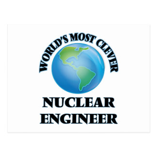 World's Most Clever Nuclear Engineer Postcards