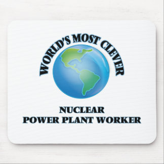 World's Most Clever Nuclear Power Plant Worker Mouse Pads