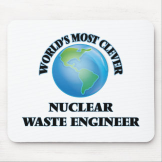 World's Most Clever Nuclear Waste Engineer Mouse Pad