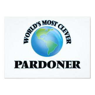 "World's Most Clever Pardoner 5"" X 7"" Invitation Card"