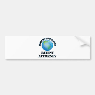 World's Most Clever Patent Attorney Bumper Stickers