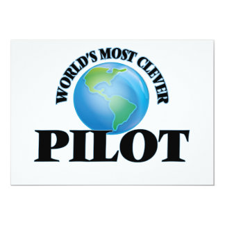World's Most Clever Pilot Card